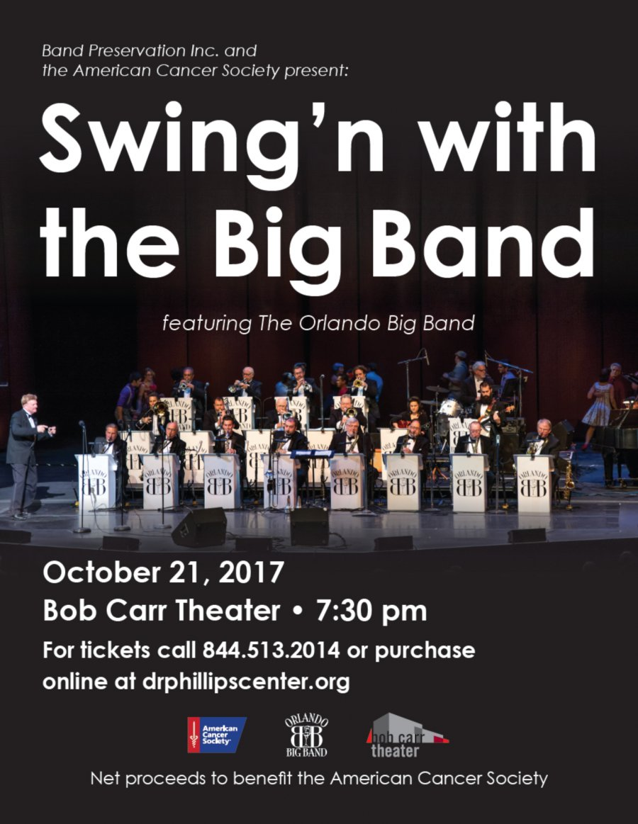 October 21, 2017: Orlando Big Band